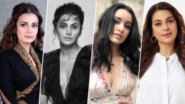 World Environment Day 2019 Messages: Dia Mirza, Taapsee Pannu, Shraddha Kapoor, Juhi Chawla Lead Fight Against Air Pollution