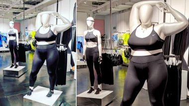 Nike Launches First Ever Plus-Size Mannequins to Promote Inclusivity and Body Positivity! Internet Is Divided