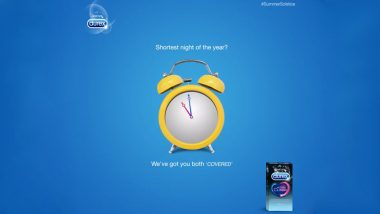 Happy Summer Solstice 2019! Durex's Latest Tweet Will Make You Count Every Second Tonight