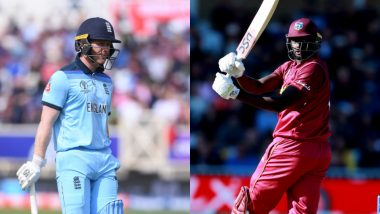 England vs West Indies Betting Odds: Free Bet Odds, Predictions and Favourites During ENG vs WI in ICC Cricket World Cup 2019 Match 19