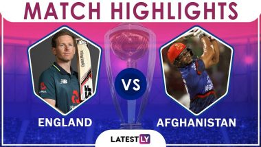England vs Afghanistan Stat Highlights ICC CWC 2019: ENG Beat AFG by 150 Runs