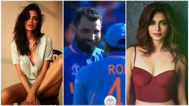 IND vs AFG, ICC CWC 2019: Esha Gupta, Kriti Kharbanda, Sonu Sood Cheer for Mohammed Shami's Hat-trick That Helped Team India Win against Afghanistan
