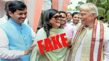 Fake News Busted: Shahnawaz Hussain is NOT Son-In-Law of Murli Manohar Joshi; Viral Social Media Posts Are Hoax