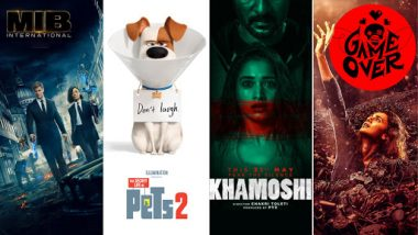 Movies This Week: Chris Hemsworth's Men in Black: International, Harrison Ford's the Secret Life of Pets 2, Prabhudeva's Khamoshi, Taapsee Pannu's Game Over