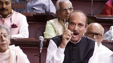 'Jharkhand Has Become Factory of Lynching And Violence, PM Modi Still Mute': Ghulam Nabi Azad Raises Tabrez Ansari Case in Rajya Sabha