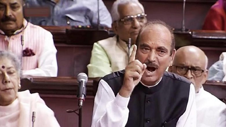 'Jharkhand Has Become Factory of Lynching And Violence, PM Modi Still Mute': Ghulam Nabi Azad Raises Tabrez Ansari Case in Rajya Sabha