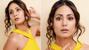 Hotness Alert! Hina Khan Totally Slays in Her Thigh High Slit Yellow Dress (View Pics)