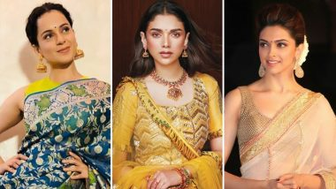 Vat Savitri 2019: From Sarees to Hair and Makeup, Let Bollywood Divas Teach You How to Get Ready for the Celebration! (Watch Videos)