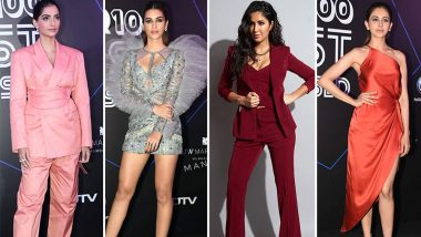 GQ 100 Best Dressed: Sonam Kapoor, Katrina Kaif, Kriti Sanon and Others Shine Bright on the Black Carpet (View Pics)