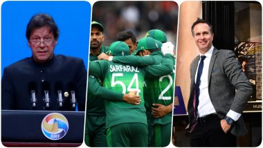 Imran Khan Posts Encouraging Words for Sarfaraz Ahmed and Team Ahead of IND vs PAK, CWC 2019 Game, Michael Vaughan Trolls Pakistani PM
