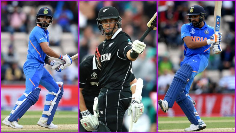 IND vs NZ, ICC Cricket World Cup 2019 Match 18, Key Players: Virat Kohli, Ross Taylor and Other Cricketers to Watch Out for at Trent Bridge in Nottingham