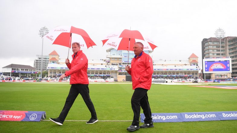 India vs New Zealand CWC 2019 Match Abandoned Due to Rain