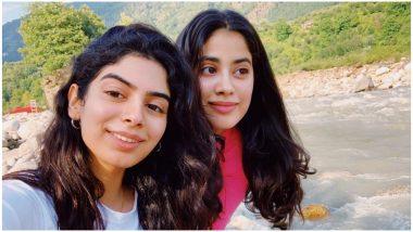 Khushi Kapoor Joins Sister Janhvi Kapoor in Uttarakhand as She Shoots for Roohi Afza – See Pics