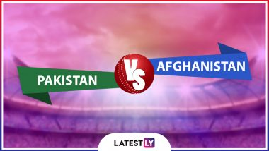 Live Cricket Streaming of Pakistan vs Afghanistan Match on