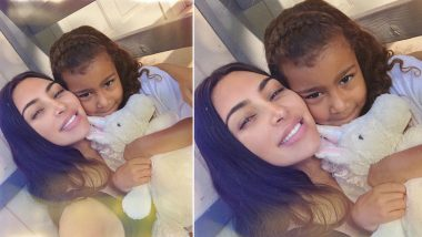 Kim Kardashian Posts Super Adorable Selfie With Daughter North West; Says 'I Still Can't Believe My First Born Baby Is 6' (View Pic)