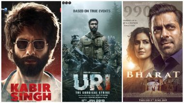Box Office: Kabir Singh, Uri, Bharat – 5 Bollywood Movies That Earned the Most in the First Half of 2019