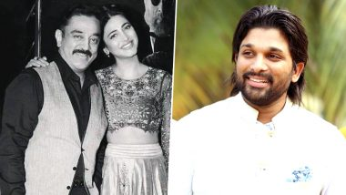 Father's Day 2019: Allu Arjun, Shruti Haasan and Other South Celebs Post Heartfelt Messages on Social Media
