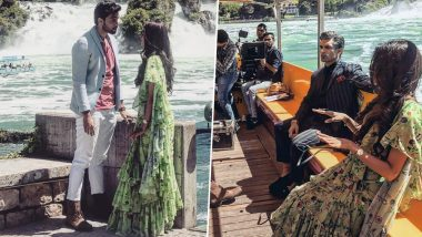 Kasautii Zindagii Kay 2 in Switzerland: Parth Samthaan, Erica Fernandes and Karan Singh Grover Shoot For an Intense Sequence at Rhine Falls - See Pics