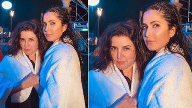 Sooryavanshi: After Akshay Kumar, Katrina Kaif Poses With Farah Khan from the 'Tip Tip Barsa Paani' Song Shoot - See Pic