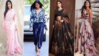Katrina Kaif's Style File for Bharat Promotions Was a Perfect Blend of 'Babita Kumari and Kumud Raina' (View Pics)