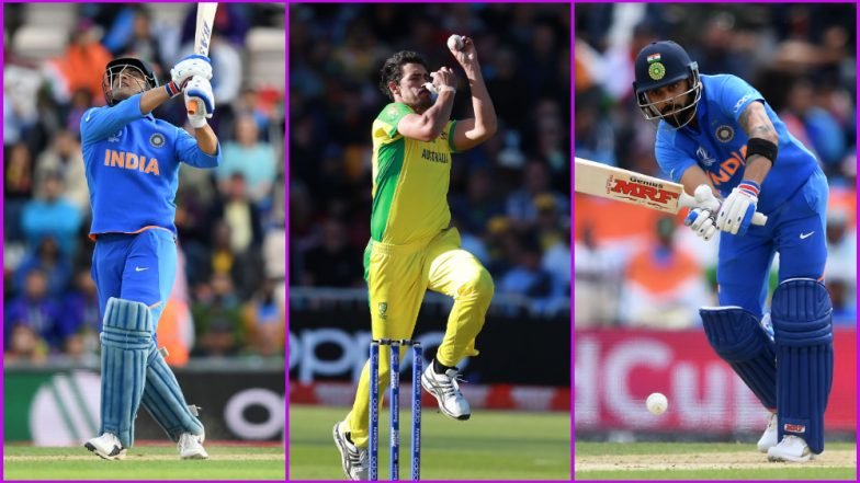 IND vs AUS, ICC Cricket World Cup 2019 Match 14, Key Players: MS Dhoni, Mitchell Starc, Virat Kohli and Other Cricketers to Watch Out for at The Oval, London