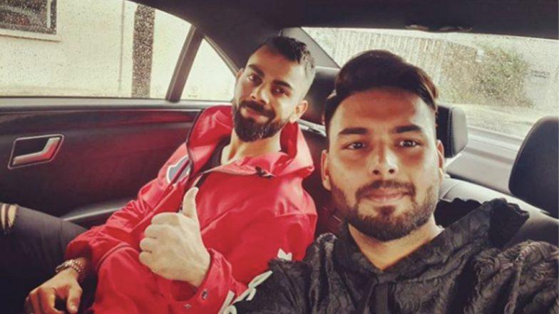 Virat Kohli Calls Rishabh Pant 'Champ' As the Duo Take Tour of Southampton Ahead of India vs Afghanistan CWC 2019 Match, See Pic