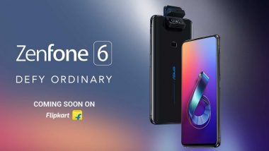 Asus Renames ZenFone 6 as 'Asus 6z'; India Launch on June 19