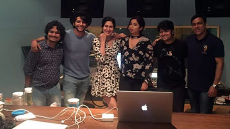Karanvir Bohra's Film Hume Tumse Pyaar Kitna: Shreya Ghoshal and Sonu Nigam Team Up For Love Song