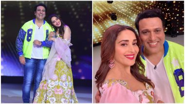Madhuri Dixit and Govinda Dance to Kisi Disco Mein Jaaye as They Reunite on Dance Deewane 2 – Watch Video
