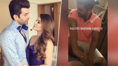 Jay Bhanushali Is a Doting Husband and This Latest Picture With His Wife Mahhi Vij Is Proof!