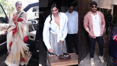 Malaika Arora Quashes Rumours of Feud with Sonam Kapoor as She Attends Her Birthday with Arjun Kapoor – See Pics