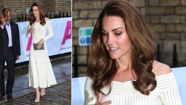 Kate Middleton Has Her Own Cinderella Moment in Sparkly Pumps at a Gala Dinner in London; See Pics