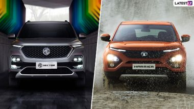 MG Hector vs Tata Harrier: India Prices, Features, Specifications, Variants, Dimensions & Colours - Comparison