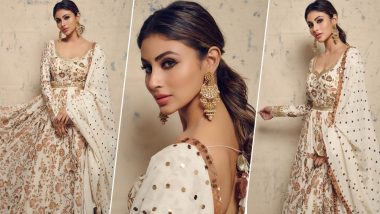 Mouni Roy Flaunts Her Sheer Ethnic Look as She Gets Iftar Ready (View Pics)