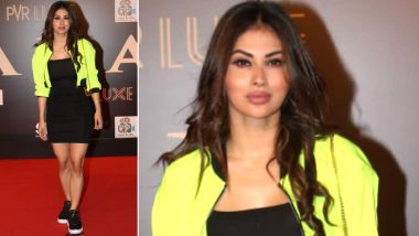 Bharat Premiere: Mouni Roy Gets Massively Trolled for Looking Like Plastic at the Screening of Salman Khan's Film (View Pics)