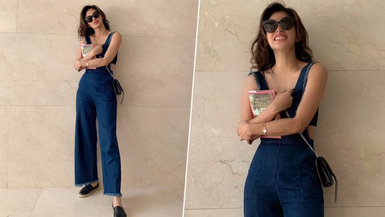 Mouni Roy Is Hotness Personified in Blue Denim Overalls (View Pics)