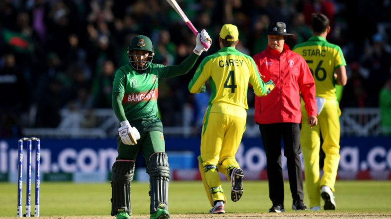 Australia vs Bangladesh Stat Highlights ICC CWC 2019: Despite Mushfiqur Rahim's Hundred AUS Beat BAN