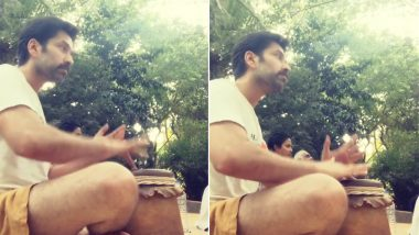 Nakuul Mehta Playing Tabla Proves His Talent Is Not Restricted to Mere Acting (Watch Video)