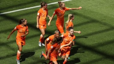 Netherlands vs Canada FIFA Women's World Cup 2019 Live Streaming: Get Telecast & Free Online Stream Details of Group E Football Match in India