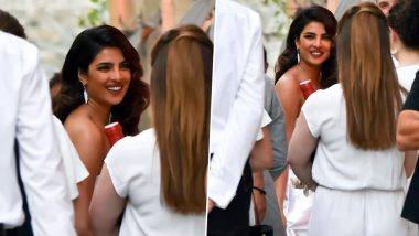 Sophie Turner and Joe Jonas Pre-Wedding Party: Priyanka Chopra is a Sight in White as She Attends the Rehearsal Dinner