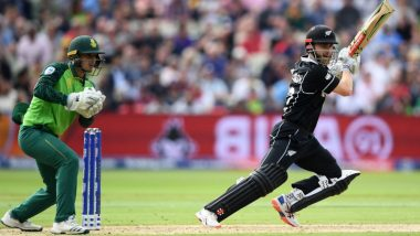 New Zealand vs South Africa, ICC CWC 2019 Stat Highlights: Kane Williamson Century Knocks SA Virtually Out of World Cup