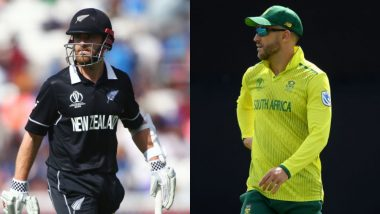 New Zealand vs South Africa Betting Odds: Free Bet Odds, Predictions and Favourites During NZ vs SA in ICC Cricket World Cup 2019 Match 25