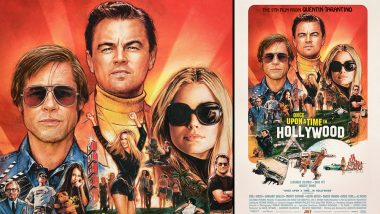 Once Upon A Time In Hollywood: This New Poster of the Leonardo DiCaprio, Brad Pitt and Margot Robbie Starrer is High on Retro Feels
