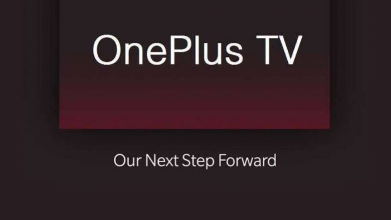 OnePlus TV Likely To Be Launched By Next Month; Expected Prices, India Launch, Features & Specifications