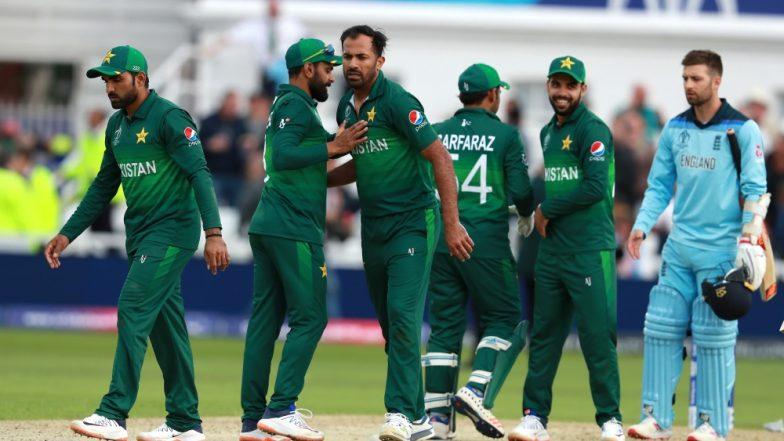Pakistan vs England, ICC CWC 2019 Stat Highlights: Wahab Riaz Snaps Three Wickets for Pak As Sarfaraz Ahmed & Co Break Their Losing Spree