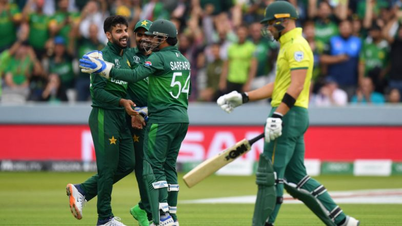 Pakistan vs South Africa Stat Highlights, ICC World Cup 2019 Match: PAK Stay in Contention for Semi Final Spot, Beat SA by 49 Runs