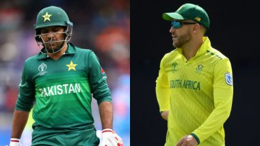 Pakistan vs South Africa Betting Odds: Free Bet Odds, Predictions and Favourites During PAK vs SA in ICC Cricket World Cup 2019 Match 30