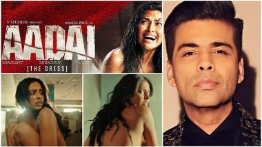 Aadai Teaser: 'Amala Paul is Bold, Beautiful and Badass', Says Karan Johar (Watch Video)