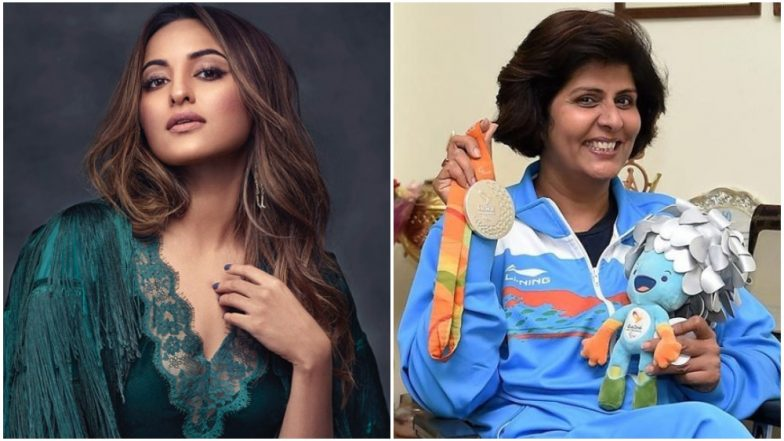 Sonakshi Sinha Reveals if She's Doing the Biopic on the Life of Paralympic Silver Medalist Deepa Malik