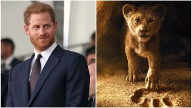 Prince Harry Will Attend The Lion King London Premiere To Support 'Protect the Pride' Campaign